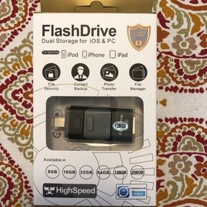 Flash USB Drive for iPhone, iPad & Android 128 GB